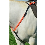 orangecolor1 ENGLISH BREAST COLLAR made from BETA BIOTHANE (Mix N Match)