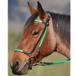 Icelandic BRIDLE with reins Beta Biothane ANY 2 COLOR COMBO