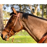 PICNIC BRIDLE or SIMPLE HALTER BRIDLE made from LEATHER