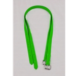 STIRRUP LEATHERS made from BETA BIOTHANE CURB CHAIN made from BETA BIOTHANE **Green Bean Official Tack***