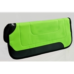 LIME GREEN Abetta Western Saddle Pad No-Slip, Breathable **Green Bean Official Tack***