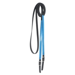 black RIDING REINS (ANY 2 COLOR COMBO) made from BETA BIOTHANE