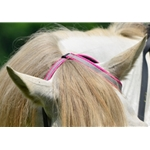 pink WESTERN BRIDLE (One or Two Ear Split Ear Browband) made with REFLECTIVE DAY GLO Biothane