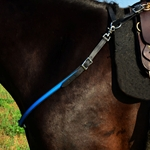 lightblue(teal/sky) ENGLISH BREAST COLLAR made from BETA BIOTHANE (Any 2 COLOR COMBO)