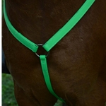 green WESTERN BREAST COLLAR made from BETA BIOTHANE (Solid Colored)