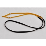 yellow RIDING REINS (Solid Colored) made from BETA BIOTHANE
