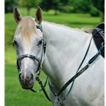 greencamo ENGLISH CONVERT-A-BRIDLE with CAMOUFLAGE Biothane