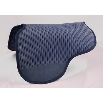 BLACK EQUITECH No Slip, Breathable  Neoprene English Trooper Saddle Pad