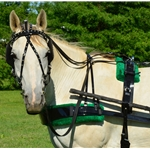 greenpad BIOTHANE HARNESS with SILVER SPOTS