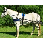 bluepad BIOTHANE HARNESS with SILVER SPOTS