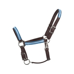 blackoverlay  Turnout HALTER & LEAD made with REFLECTIVE Beta Biothane