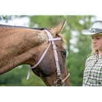 whitebetabiothane WESTERN BRIDLE (Full Browband) made from BETA BIOTHANE (Solid Colored)