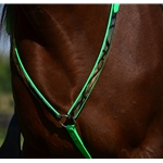 greencamooverlay  ENGLISH BREAST COLLAR with CAMOUFLAGE Beta Biothane