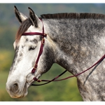 wine Snap on Browband WESTERN BRIDLE made from BETA BIOTHANE (Solid Colored)