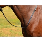 blackbase STANDING MARTINGALE made from BETA BIOTHANE (WITH BLING)