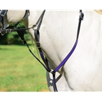 bluebase RUNNING MARTINGALE made from BETA BIOTHANE (ANY 2 COLOR COMBO)