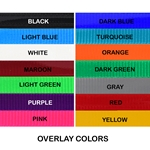 betabiothanecolors RUNNING MARTINGALE made from BETA BIOTHANE (ANY 2 COLOR COMBO)