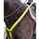 1.5 inch Wide PULLING Western BREAST COLLAR made from Beta Biothane