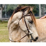 **Better Than Leather** MULE BRIDLE made from beta biothane