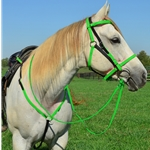 **Green Bean Official Tack*** Quick Change HALTER BRIDLE with Snap On Browband made from BETA BIOTHANE (Mix N Match)