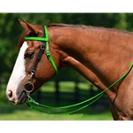 WESTERN BRIDLE (Full Browband) made from BETA BIOTHANE (Mix N Match) **Green Bean Official Tack***