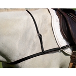 JUMPING ENGLISH BREAST COLLAR made from BETA BIOTHANE (Solid Colored)