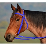 Dark BLUE AUSTRALIAN BARCOO OUTRIDER AUSSIE BRIDLE made from BETA BIOTHANE