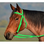 LIME GREEN AUSTRALIAN BARCOO OUTRIDER AUSSIE BRIDLE made from BETA BIOTHANE