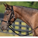 BLACK Quick Change HALTER BRIDLE with Snap on Browband made from BETA BIOTHANE
