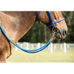 Soft Cotton Rope Horse Riding Reins - Two Horse Tack