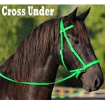 LIME GREEN 2 in 1 BITLESS BRIDLES
