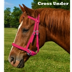 PINK 2 in 1 BITLESS BRIDLES