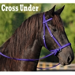 PURPLE 2 in 1 BITLESS BRIDLES
