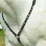 betabiothanecolors ENGLISH BREAST COLLAR made from BETA BIOTHANE (with BLING)