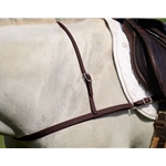 BROWN JUMPING ENGLISH BREAST COLLAR made from BETA BIOTHANE