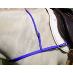 DARK BLUE JUMPING ENGLISH BREAST COLLAR made from BETA BIOTHANE