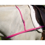PINK JUMPING ENGLISH BREAST COLLAR made from BETA BIOTHANE
