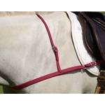 WINE JUMPING ENGLISH BREAST COLLAR made from BETA BIOTHANE