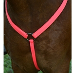 pink WESTERN BREAST COLLAR made from BETA BIOTHANE (Solid Colored)