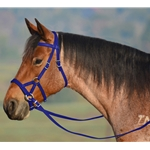 DARK BLUE SIDEPULL Bitless Bridle made from BETA BIOTHANE