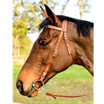 WESTERN BRIDLE (Full Browband) made from LEATHER