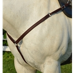BROWN WESTERN BREAST COLLAR made from BETA BIOTHANE