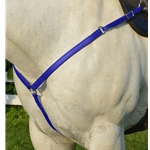 DARK BLUE WESTERN BREAST COLLAR made from BETA BIOTHANE