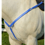 LIGHT BLUE WESTERN BREAST COLLAR made from BETA BIOTHANE