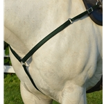 HUNTER GREEN WESTERN BREAST COLLAR made from BETA BIOTHANE