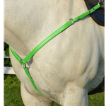 LIME GREEN WESTERN BREAST COLLAR made from BETA BIOTHANE