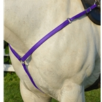 PURPLE WESTERN BREAST COLLAR made from BETA BIOTHANE