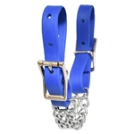 orange CURB CHAIN made from BETA BIOTHANE