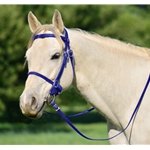 DARK BLUE PICNIC BRIDLE or SIMPLE HALTER BRIDLE made from Beta Biothane