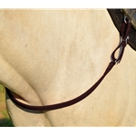 BROWN ONE PIECE BREAST STRAP made from BETA BIOTHANE
